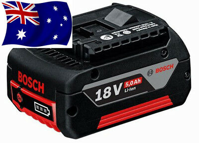 Genuine Bosch Professional 18V 5.0Ah Lithium-Ion Battery AUSSIE STOCK