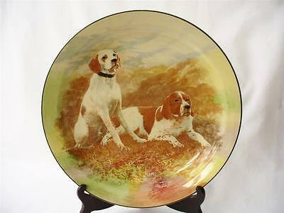 c 1938 Royal Doulton Series Ware Plate - Hunting Dogs
