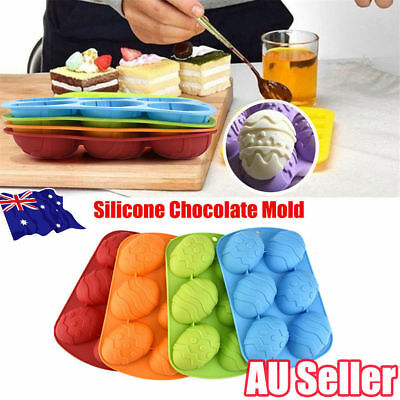 Easter Egg Silicone Cake Crayon Chocolate Soap Ice Craft Mold Mould Party OD