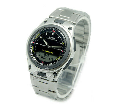 -Casio AW80D-1A Dual Time Watch Brand New & 100% Authentic