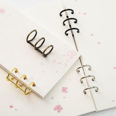 Metal Plated Loose Leaf Book Binder Hinged Ring Binding Ring Nickel Rings Supply