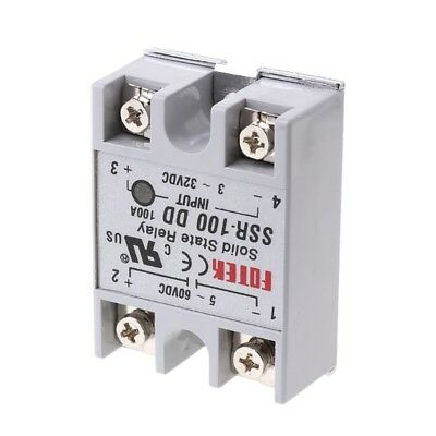 SSR-100 DD Solid State Relay Module 100A 3-32V DC Input 5-60V DC Output Relay