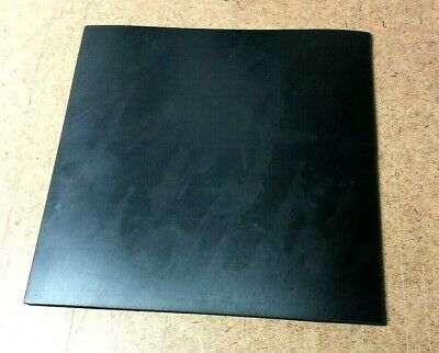 "Neoprene Rubber Solid Sheet 3/16"" Thk x 12"" x 12"" Sq Foot Pad 60D Med Flex"