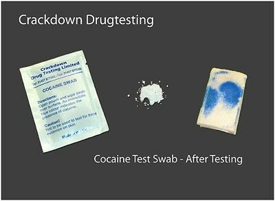 Cocaine detection wipes/swab (Pack of 10)