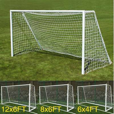 S/M/L Size Football Soccer Goal Post Nets For Sports Training Match Replace AU