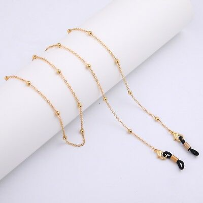Eyeglass Chains Holders Beaded Sunglass Strap for Women Vogue Accessories Gift