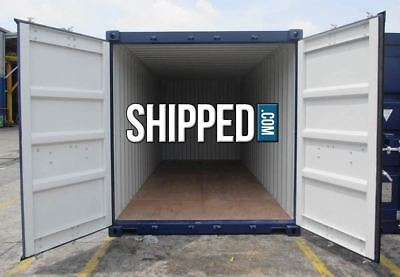 CERTIFIED SEA WORTHY 20 ft NEW (One Trip) SHIPPING CONTAINER LAS VEGAS, NEVADA