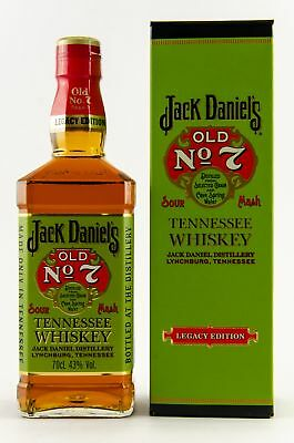 JACK DANIEL'S OLD No.7 Legacy Edition No.1 - Tennessee Whiskey 43% 1x0,70L