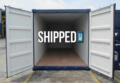 CERTIFIED SEA WORTHY 20ft NEW One-Trip SHIPPING CONTAINER in MEMPHIS, TENNESSEE