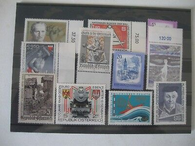Selection Of Stamps Of Austria, Mint, Card 1, Reduced Postage,