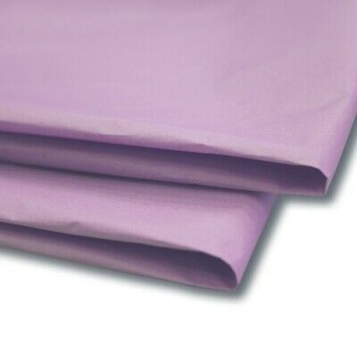 """50 x Lavender Tissue Paper / Gift Wrap / Wrapping Paper Sheets (20"""" x 30"""")"""
