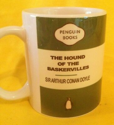 Penguin Book Cover-Arthur Conan Doyle The Hound Of The Baskervilles-On A  Mug