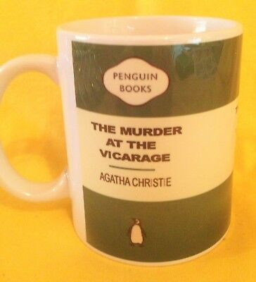 Penguin Book Cover-Agatha Christie The Murder At The Vicarage-On A  Mug