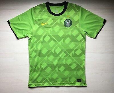 Glasgow Celtic 2010 2011 Player issue Nike soccer football shirt jersey size  L 666de2167