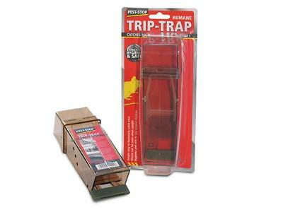 Pest-Stop Systems PRCPSTTB Trip Trap Humane Mouse Trap