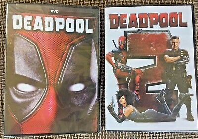 Deadpool 1 & 2 (DVD,2018) NEW* Action, Comedy, S/Fiction*   Brand New Sealed!