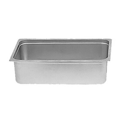 Thunder Group SLRCF111 8 Qt Fulls Size Stainless Steel Chafer Water Pan
