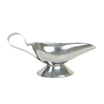 Thunder Group SLGB005 5 oz Stainless Steel Gravy Boat w/ Tapered Spout
