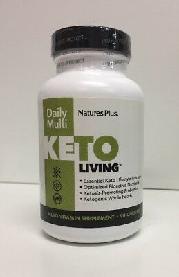 (New) Nature's Plus Keto Living Daily Multivitamin, 90 Capsules