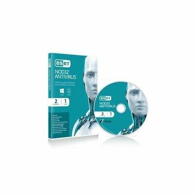 Eset - Nod32 Antivirus Full Ita 2Pc - 001