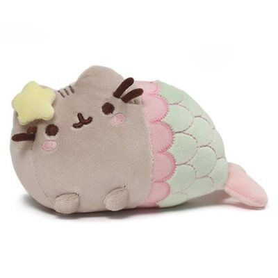 Gund New * Star Mermaid Pusheen * 7-Inch Official Plush Plushie Cat Kitty Tabby