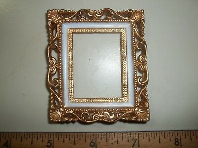 Gold Frame  - Doll House Miniature