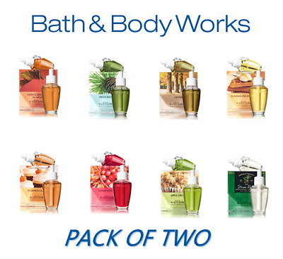 Bath & Body Works Wallflowers Scent Refills TWO PER PACK LOW COST SHIPPING