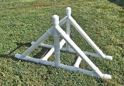 dog agility equipment teeter base with plank kit - non-adjustable