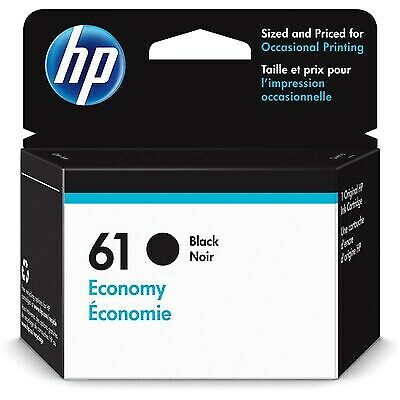 HP 61 Economy Black Original Ink Cartridge - Free Next Business Day Delivery