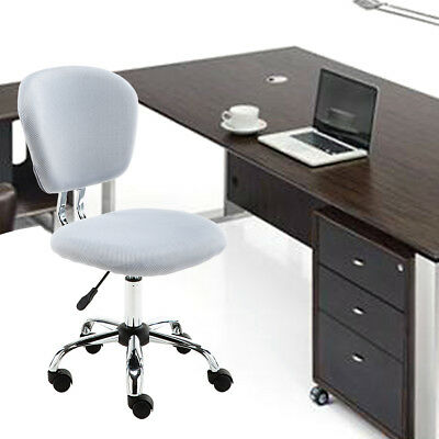 New Mesh Fabric Adjustable Swivel Computer Desk Office Chair Padded Soft Seat