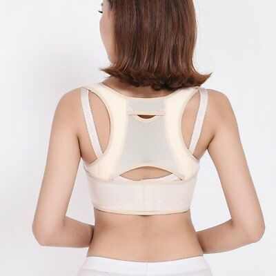 Posture Clavicle Support Corrector Back Straight Shoulders Brace Strap Correct Q