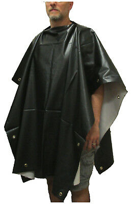 Civil War Rubberized Rain Poncho with Grommets - Civil War Reenactment Gear