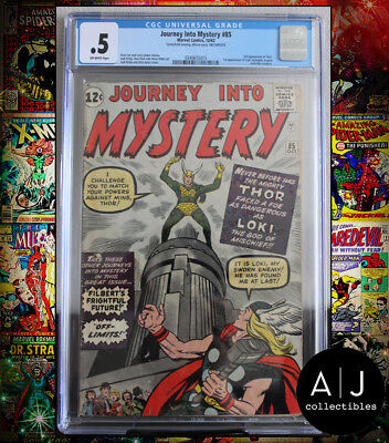 Journey Into Mystery #85 CGC .5 (Marvel) HIGH RES PICTURES!