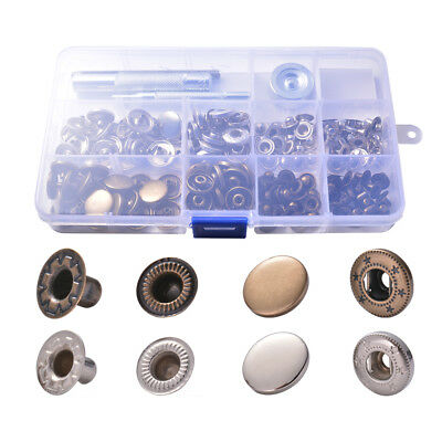 Plastic Stud Scrapbooking Love Heart  Fasteners  Snap Buttons Press Button