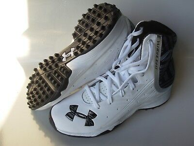 new womens 7 under armour highlight RC rubber lacrosse turf cleats compfit