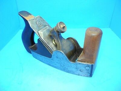 Mathieson handled wood infill smoothing horn horned plane w/ Ward iron
