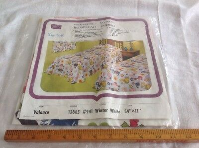 Vintage NOS Unopened Valance SEARS Rag Doll Pattern 1970's Flower Power Style
