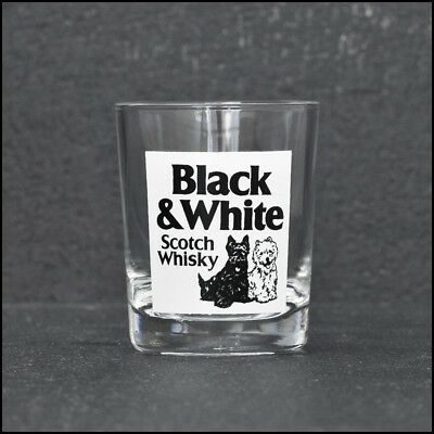 Black & White Scotch Whisky Shot Glass - NEW