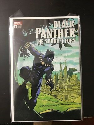 Marvel Black Panther The Sound And The Fury #1 eBay Variant Brand new Unopened