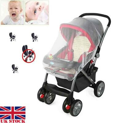UK Baby Mosquito Cot Cat Net Pushchair Moses Basket Pram Carseat Stroller Buggy
