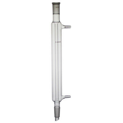 Glass Laboy Liebig Condenser With 24/40 Joints 300mm In Jacket Length