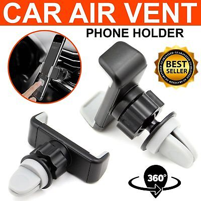 Universal In Car Mobile Phone Sat Nav Pda Gps Holder With Car Air Vent Clip