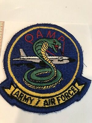 """Army Air Force USAAF """"OAMP"""" Patch Stock #051 USA  US Army Air Force"""