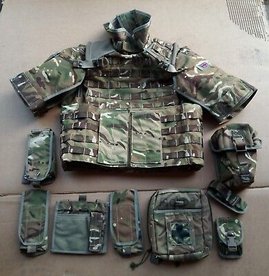 MTP Mk4 Osprey Body Armour Cover + 8 Pouches + Accessories 170/100