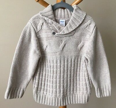 Gymboree Boys Sweater Pullover Size 2T Beige