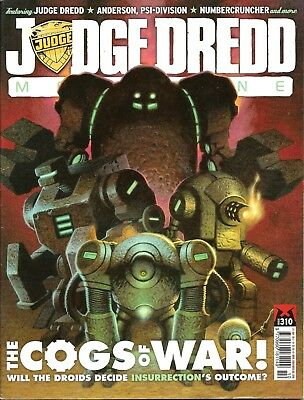 JUDGE DREDD MEGAZINE # 310 / 24th MAY 2011 / REBELLION / UK COMIC / V/G / 2000AD