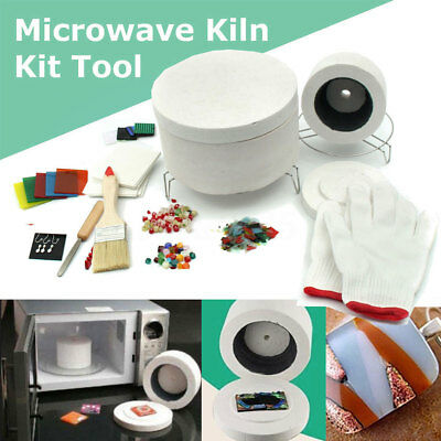 Fusing Supplies UK Glass Kit Microwave Tool DIY STOCK Kiln Stained 10Pcs