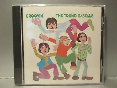 Groovin' by The Rascals/The Young Rascals (CD, Oct-1990, Warner Music) Brand New