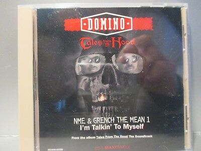 Tales from the Hood by Domino (4 Track Maxi-Single CD,1995, MCA) Brand New