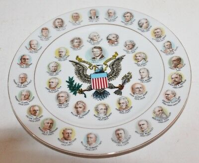 """Collector Plate -Souvenir President Carter Plate -1977 """"200 Years. Of Presidents"""
